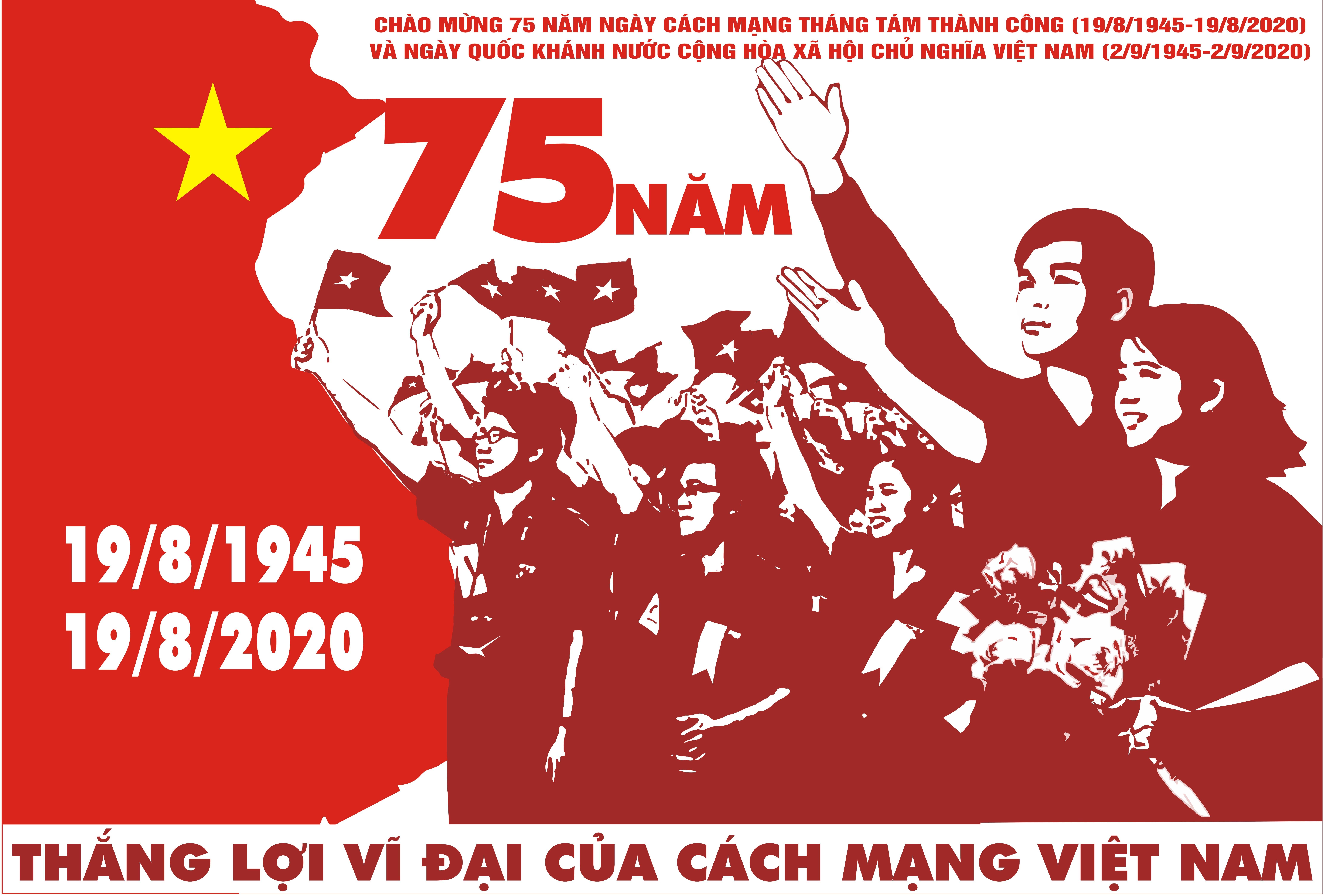 Tài liệu tuyên truyền kỷ niệm 75 năm Cách mạng Tháng Tám (19/8/1945-19/8/2020) và Quốc khánh nước Cộng hòa xã hội chủ nghĩa Việt Nam (2/9/1945 - 2/9/2020)